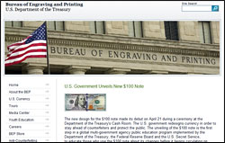 The US Bureau of Engraving and Printing